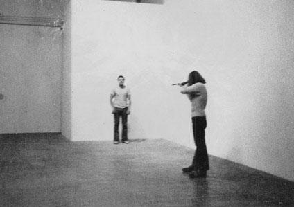 Chris Burden, Shoot (1971)