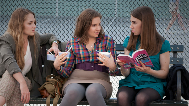 Official promotional still of HBO's Girls.