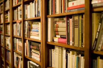 """Bookshelf"", Stewart Butterfield: http://www.flickr.com/photos/stewart/99129170/. CC Licensed."