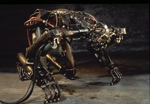 Tumbling Man, Photo: Amorphic Robot Works