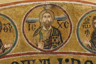 mural, theology, church fathers, jesus