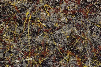 pollock, visual art, painting, abstract