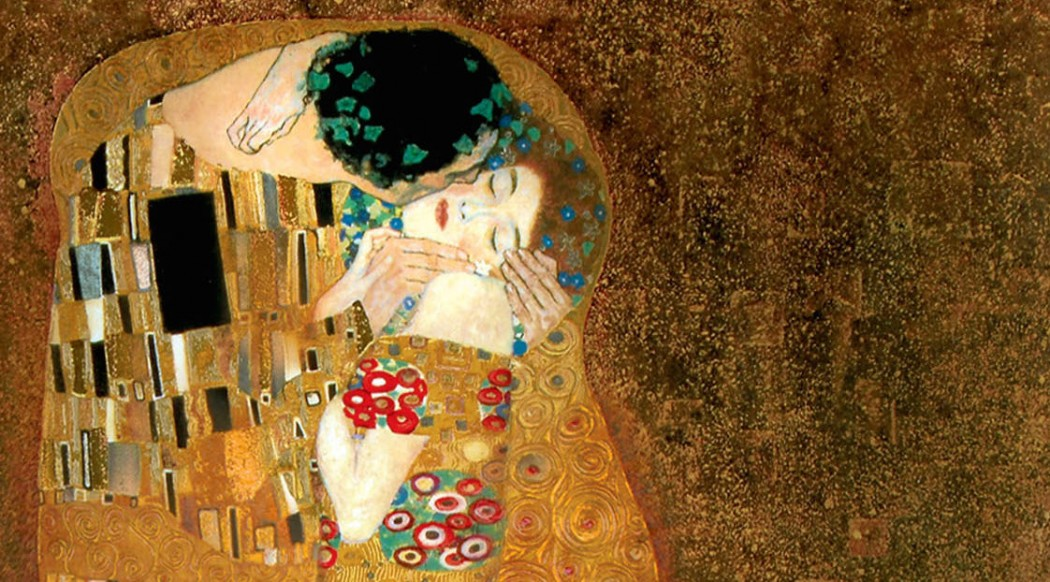 klimt kiss crop