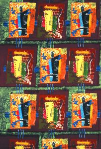 John Piper, Foliate Heads, 1954, David Whitehead Ltd